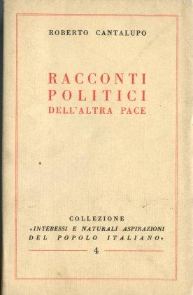 RACCONTI POLITICI DELL'ALTRA PACE